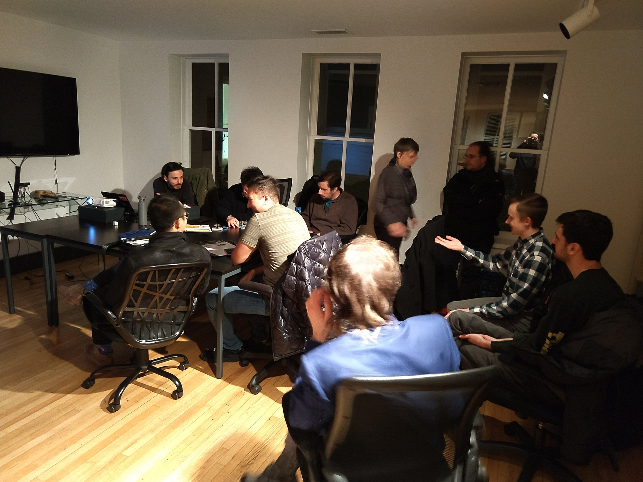 Civic Hack Night with the UVA Architecture School and SDS